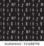 runes seamless pattern. runic...   Shutterstock .eps vector #511688746