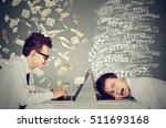 corporate employee income... | Shutterstock . vector #511693168