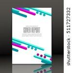 template design for cover.... | Shutterstock .eps vector #511727332