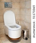 this is a closeup of a toilet | Shutterstock . vector #51173365