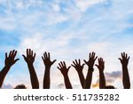 community initiative or... | Shutterstock . vector #511735282