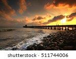 Bridge Seaside Sunsets Is...