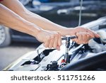 check the condition of the car... | Shutterstock . vector #511751266
