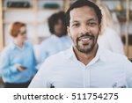 portrait of african american... | Shutterstock . vector #511754275