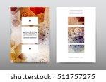 brochure layout template flyer... | Shutterstock .eps vector #511757275