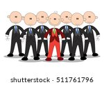 illustration of a business... | Shutterstock . vector #511761796