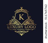 luxury logo   Shutterstock .eps vector #511765762