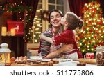 merry christmas and happy... | Shutterstock . vector #511775806