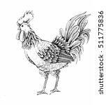 illustration   sketch profile... | Shutterstock . vector #511775836