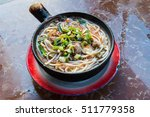 chinese white noodle is the... | Shutterstock . vector #511779358