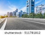 empty asphalt road through... | Shutterstock . vector #511781812
