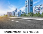 empty asphalt road through... | Shutterstock . vector #511781818