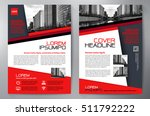 business brochure. flyer design.... | Shutterstock .eps vector #511792222