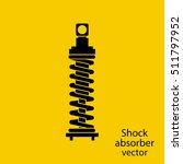 shock absorber icon. spare... | Shutterstock .eps vector #511797952