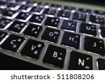 close up notebook laptop... | Shutterstock . vector #511808206