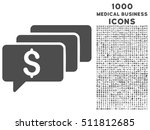money messages vector icon with ...