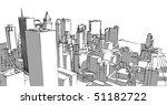 city | Shutterstock . vector #51182722