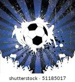 football poster | Shutterstock .eps vector #51185017