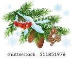 Christmas Decoration. Fir...