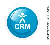 modern crm sign   Shutterstock .eps vector #51185842