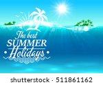 Best Summer Holidays Banner....