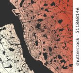 liverpool two tone map artprint ... | Shutterstock .eps vector #511868146