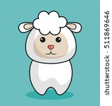 Cute Sheep Stuffed Icon