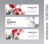banner business layout template ...   Shutterstock .eps vector #511872562
