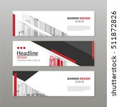 banner business layout template ... | Shutterstock .eps vector #511872826