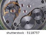 old mechanic watch close up shot | Shutterstock . vector #5118757