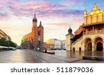 panorama market square at... | Shutterstock . vector #511879036