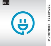 smiley and plug. vector icon | Shutterstock .eps vector #511884292