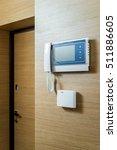 Home Video Intercom On A Woode...
