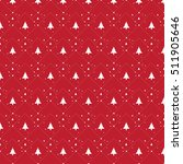 Red Christmas Pattern With...