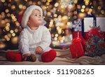 little smiling boy  baby  in a... | Shutterstock . vector #511908265