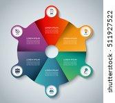 vector infographic elements.... | Shutterstock .eps vector #511927522