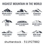 mountain tourist vector logos... | Shutterstock .eps vector #511927882