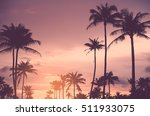 copy space of tropical palm... | Shutterstock . vector #511933075