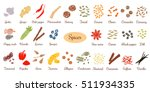 big vector set of popular... | Shutterstock .eps vector #511934335