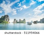 ha long bay vietnam | Shutterstock . vector #511954066