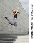 sport  dancing and urban... | Shutterstock . vector #511957312