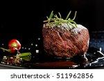 premium beef steak | Shutterstock . vector #511962856