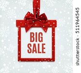 big sale  square banner in form ... | Shutterstock . vector #511964545
