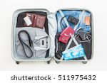 travel traveler traveling bag... | Shutterstock . vector #511975432