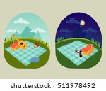 place for a family and romantic ... | Shutterstock .eps vector #511978492