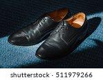 men's classic black leather... | Shutterstock . vector #511979266