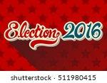happy new year 2017. vector...   Shutterstock .eps vector #511980415