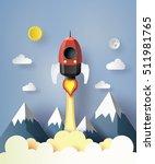 start up business concept.... | Shutterstock .eps vector #511981765