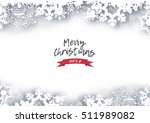 christmas holiday winter... | Shutterstock .eps vector #511989082