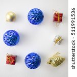 Holiday Ornament With Christma...